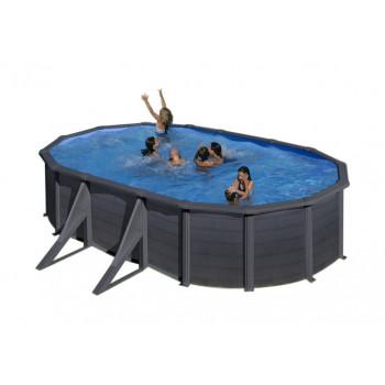 Bazén GRE Graphite 5,0 x...