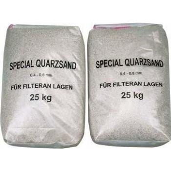 Filtrační písek 0,4–0,8 mm...